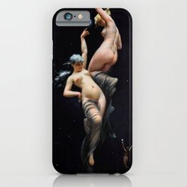 "Luis Ricardo Falero ""Reaching for the Stars (also known as Moonlit Beauties)"" iPhone Case"