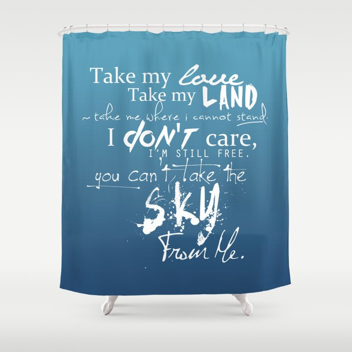 Firefly The Ballad Of Serenity Shower Curtain By Vyles