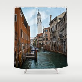 Leaning Venice Shower Curtain