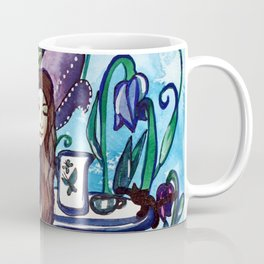 Blue Fairy´s Garden Coffee Mug