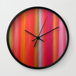 Bright Lights Wall Clock