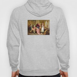 Betsy Ross and General George Washington Hoody