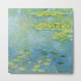 "Claude Monet ""Water Lilies"" (10) Metal Print"