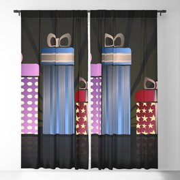 Abstract Gifts Blackout Curtain