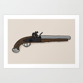 George Washington's Pistol Art Print