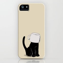 Cat with Helmet iPhone Case