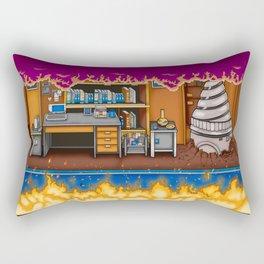 Arcade Slice Rectangular Pillow