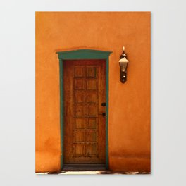 A Santa Fe  Door Canvas Print