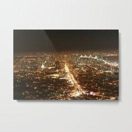 Beautiful San Francisco Skyline  Metal Print