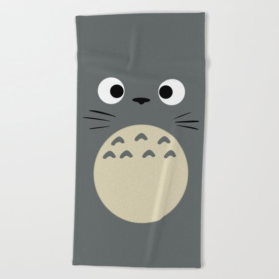 Curiously Troll ~ My Neighbor Troll Beach Towel