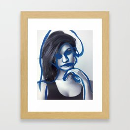 Tegan Framed Art Print