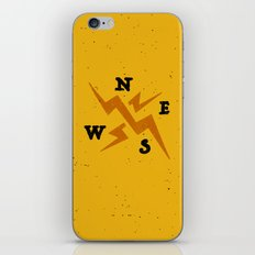 compass iPhone & iPod Skin