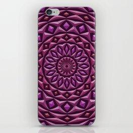 Carved in Stone Mandala iPhone Skin