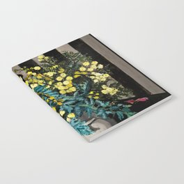 """Wattle"" by Margaret Preston Notebook"