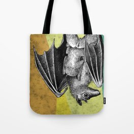 Bat mother and baby Tote Bag
