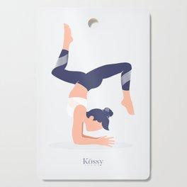 Kossy Yoga blue Cutting Board