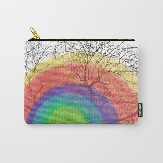 Rainbow trees Carry-All Pouch