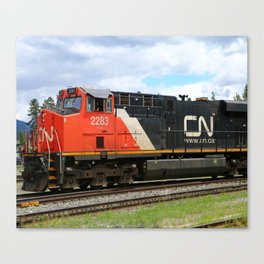 Canadian National Railway Canvas Print