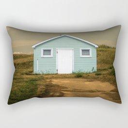 Old Beach Shack Rectangular Pillow