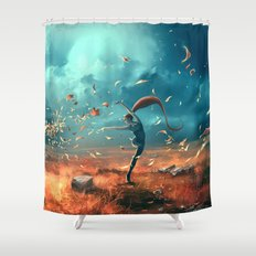 SAGITTARIUS form the Dancing Zodiac Shower Curtain