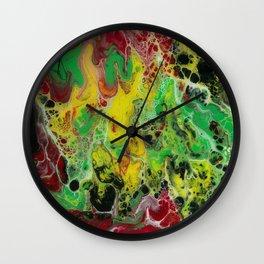 Reggae love Wall Clock
