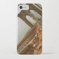 brooklyn bridge iPhone & iPod Cases featuring Brooklyn Bridge  by S Tarah