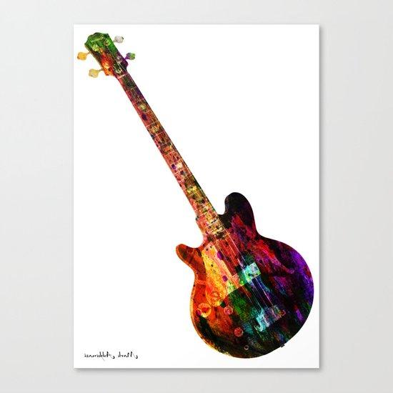 GUITAR MUSIC Canvas Print