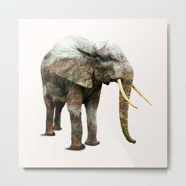 Elephant Transformation #society6 #decor #animalprint Metal Print