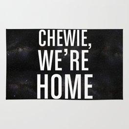 Chewie, We're Home Rug