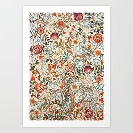 """William Morris """"Acanthus portière"""" Art Print"""