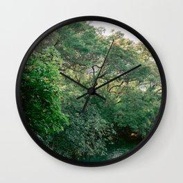 Krka National Park   Forest fine art travel photography Croatia   Sibenik Wall Clock