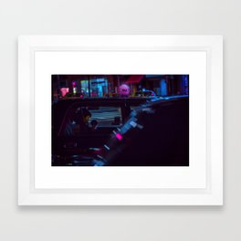 Tokyo Nights / Roppongi Nights / Liam Wong Framed Art Print