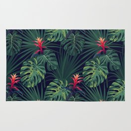 Exotic Tropical pattern Rug