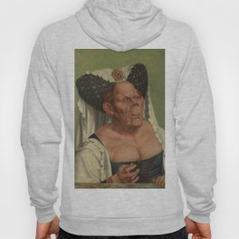 A Grotesque old woman by Quentin Matsys Hoody