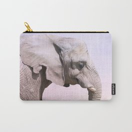 Elephant and Sunset Photography Carry-All Pouch
