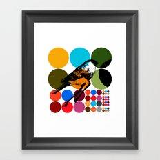 poster heroine 3 Framed Art Print