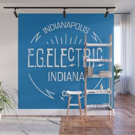EG ELECTRIC MANHOLE COVER Wall Mural