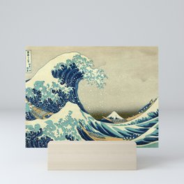 The Great Wave off Kanagawa Mini Art Print