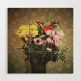 Flowers for her Wood Wall Art