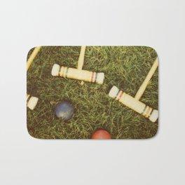 Croquet Bath Mat