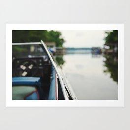Peace on Water Art Print