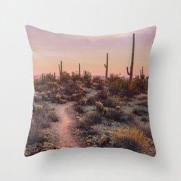 Sonoran Sunset Throw Pillow