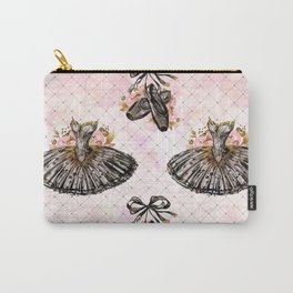 Black Tutu Ballerina Carry-All Pouch