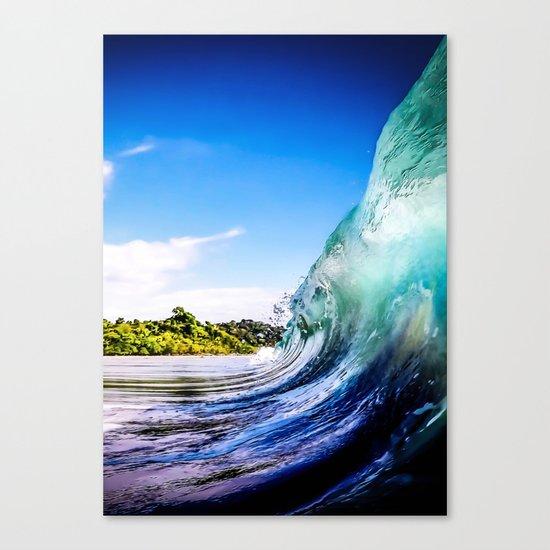 Wave Wall Canvas Print