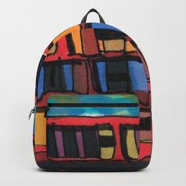 Ship at Sea Illustration 56 Backpack