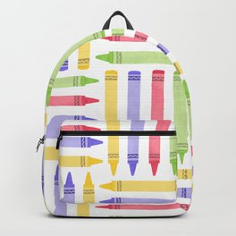 Crayon Pattern 2 Backpack