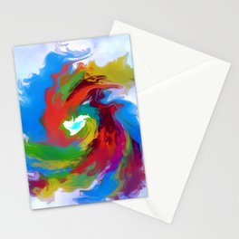 Color Gyroscope Stationery Cards