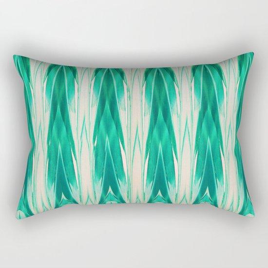 Vibrant Leaf Rectangular Pillow