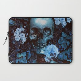 Skull and Flowers Laptop Sleeve