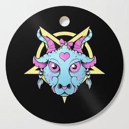 Cute Satanic Cutting Board